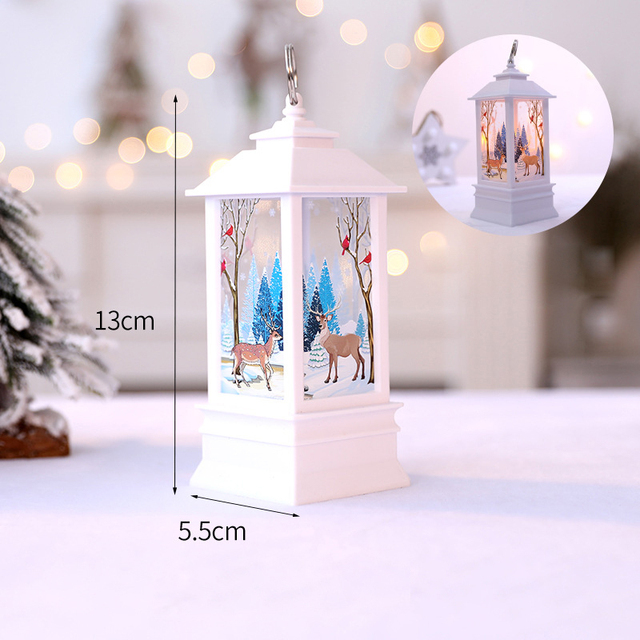 Christmas Decorations For Home Led 1 Pcs Christmas Candle With LED Tea Light Candles Christmas Tree Decoration Kerst Decoratie 5