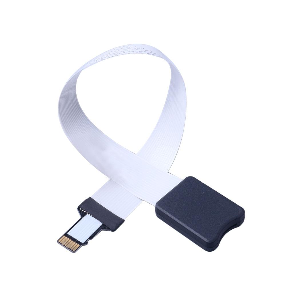 Гибкий Удлинительный кабель 25 см 48 см 62 см TF для micro sd-карты адаптер удлинитель для TF на молнии удлинитель для карты памяти шнур Linker