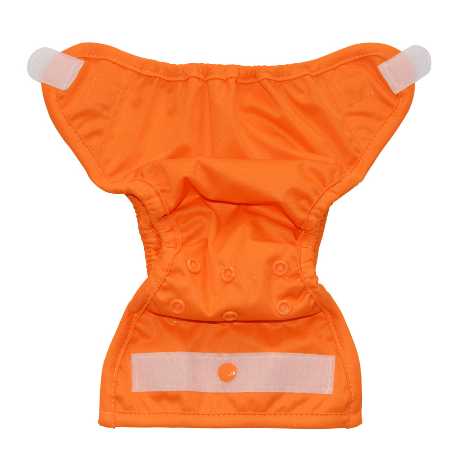 Happy Flute newborn snap cloth diaper cover for NB baby,double gussets,waterproof and breathable