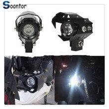 Универсальный мотоциклетный головной светильник светодиодный противотуманный фонарь лучевая головка светильник Точечный светильник для Ducati SS1000 1000S M1000S S4 S4R 916SPS XDiavel S