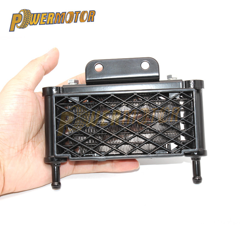 <font><b>Motor</b></font> Oil Cooling Cooler Radiator for Motorcycle KAYO APOLLO 50 70 90 110 125 Horizontal Engine Monkey Bike Chinese Dirt Pit ATV image