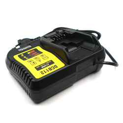 DCB112 10.8V 14.4V 18V Li-ion Battery charger 100-260V 50/60 D-65510 DCB105 DCB200 DCB201 DCB100 Replacement for Dewalt Charger