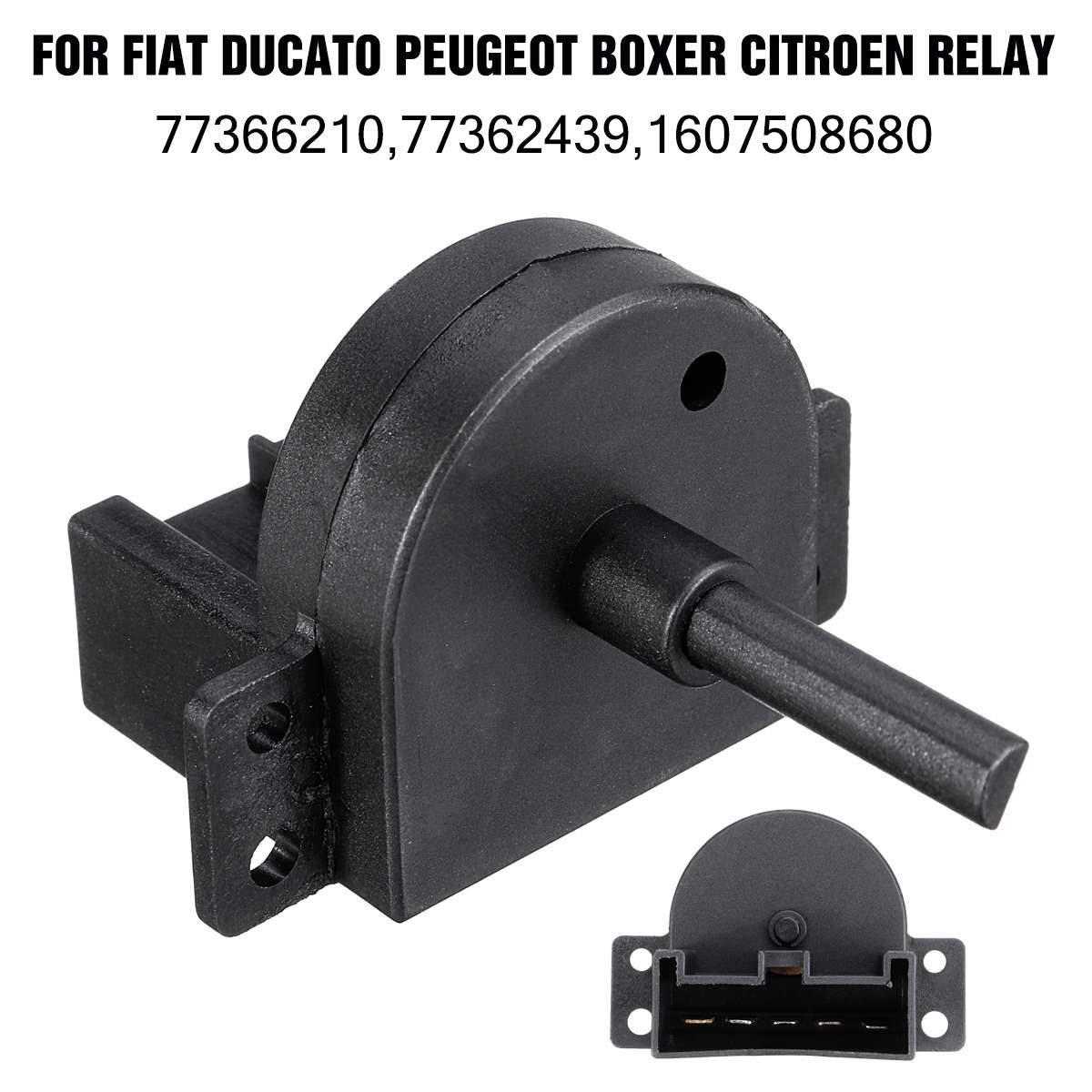 Car Heater Blower Fan Switch 77362439 77366210 77367027 For Fiat Ducato For Peugeot Boxer For Citroen Relay/Jumper 2006-
