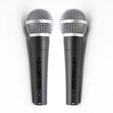 2 pièces Grade A qualité SM58LC SM58SK remplacer pour shuretype fil vocal SM58 SM 58 microphone