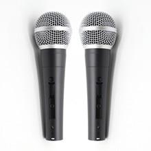 2 stücke Grade A qualität SM58LC SM58SK ersetzen für shuretype draht vocal SM58 SM 58 mikrofon