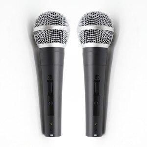Image 1 - 2pcs Grado A qualità SM58LC SM58SK sostituire per shuretype filo vocale SM58 SM 58 microfono