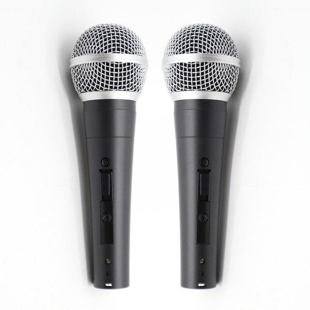 2pcs Grado A qualità SM58LC SM58SK sostituire per shuretype filo vocale SM58 SM 58 microfono