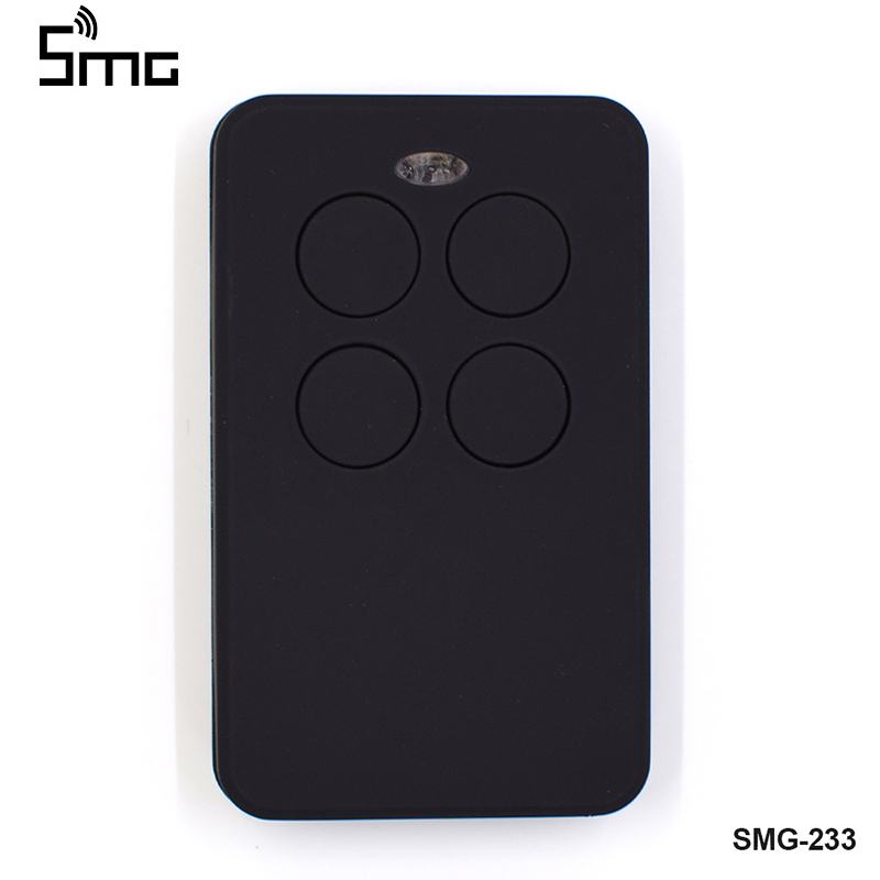 1pcs Auto Scan Multi Frequency Universal Garage Door Remote Control Key Duplicator Gate Control Remote Garage Universal Fixed Rolling Code