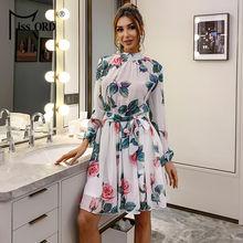 Женское платье с цветочным принтом missord Элегантное повседневное