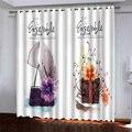 Затемненные прозрачные Занавески s подарки занавески s для рождественских спальни гостиной шторы Cortinas комнаты 3D занавески