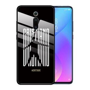 Модный чехол из закаленного стекла для Xiaomi Redmi Note 8 Pro 7 6 K20 5 Plus 7A CR 7 C Ronaldo