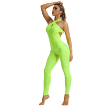 Yoga Set Tracksuit for Women Sleevesless New Womens Sportoutfit Fitness Jumpsuit Clothing  Active Wear