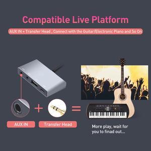 Image 5 - 8 контактный разъем для наушников Aux, USB аудио интерфейс, адаптер для вещания, синхронизации, зарядки, совместим с iOS 9 12 iPhone iPad Mini