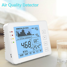 Detector Humidity-Monitor-Sensor Air-Quality Alarm Temperature And with Tracking Data-Recorder
