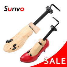 1pcs Shoe Stretcher Wooden Shoes Tree Shaper Rack Adjustable Flats Pumps Boots Wood Stretching Expander Trees for Man Women