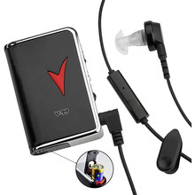 Hearing Aid V-99 Portable Hearing Amplifier Hearing Kit Behind The Ear Sound Amplifier Headphone Two Ear Plugs for The Elderly
