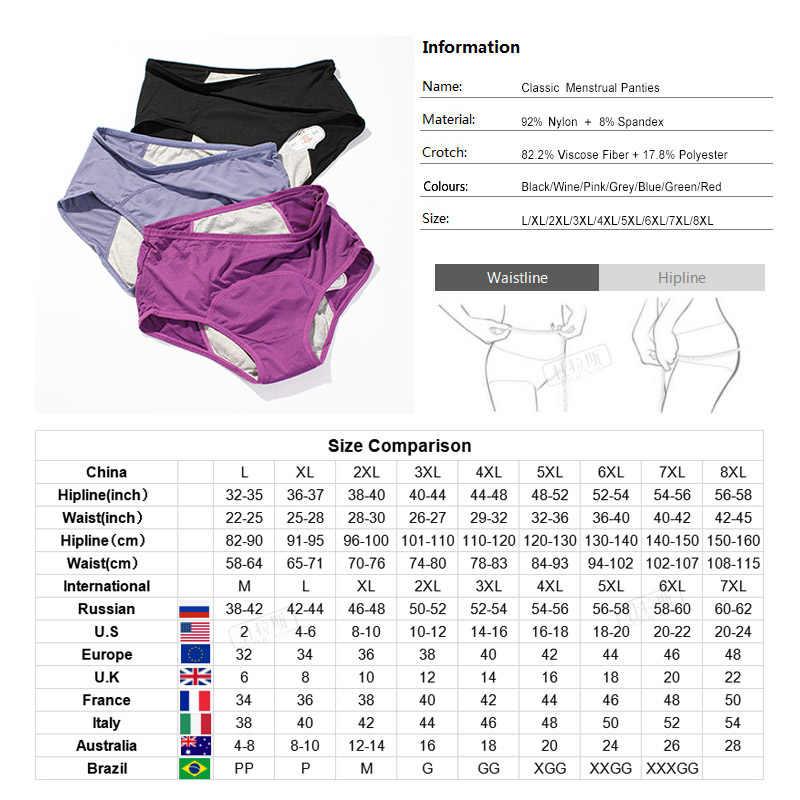 3 Stks/set Menstruele Slipje Vrouwen Sexy Broek Lekvrije Incontinentie Ondergoed Periode Proof Slips Hoge Taille Warme Vrouwelijke