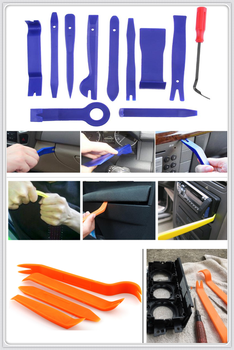 car audio door removal Dashboard tools Panel DVD Stereo repair for BMW 335is Scooter Gran 760Li 320d 135i E60 E36 F30 F30 image