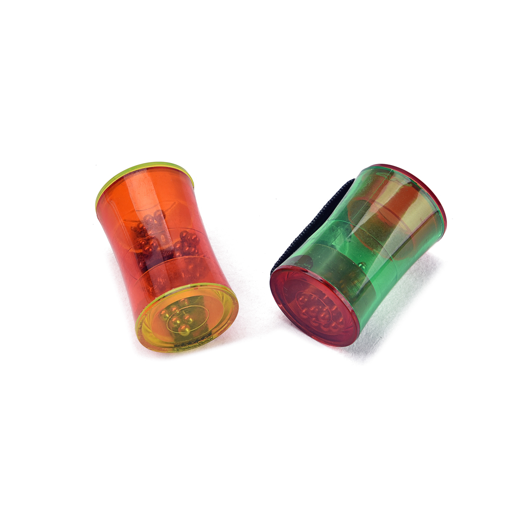 2 Pieces Cabasa Hand Percussion Musical Instrument For Guitar Ukulele Lovers