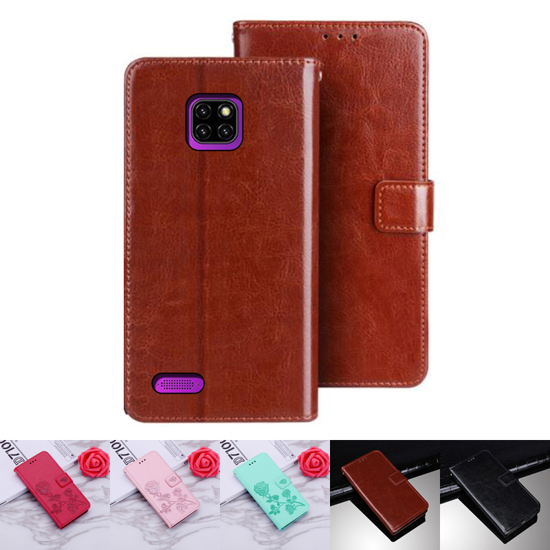 Ulefone S11 Power 6 Flip Case Protection Stand Style PU Leather Flip Case for Ulefone Note 7 7P Protector Cover Funda Coque(China)