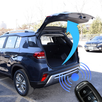 Car smart electric tail gate for HYUNDAI IX35 boot flap trunk sensor open tail door auto electric tailgate lift with foot sensor