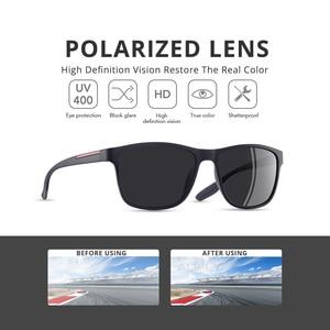 Image 2 - AOFLY DESIGN Ultraleicht TR90 Polarisierte Sonnenbrille Männer Mode Männlichen Sonne Gläser Für Fahren Platz Brillen zonnebril heren UV400