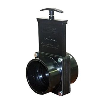 Rv 덤프 폐기물 밸브 교체 내구성 흐름 밴 하수도 호스 플라스틱 50mm 외관 홈 액세서리 캐러밴 배수구