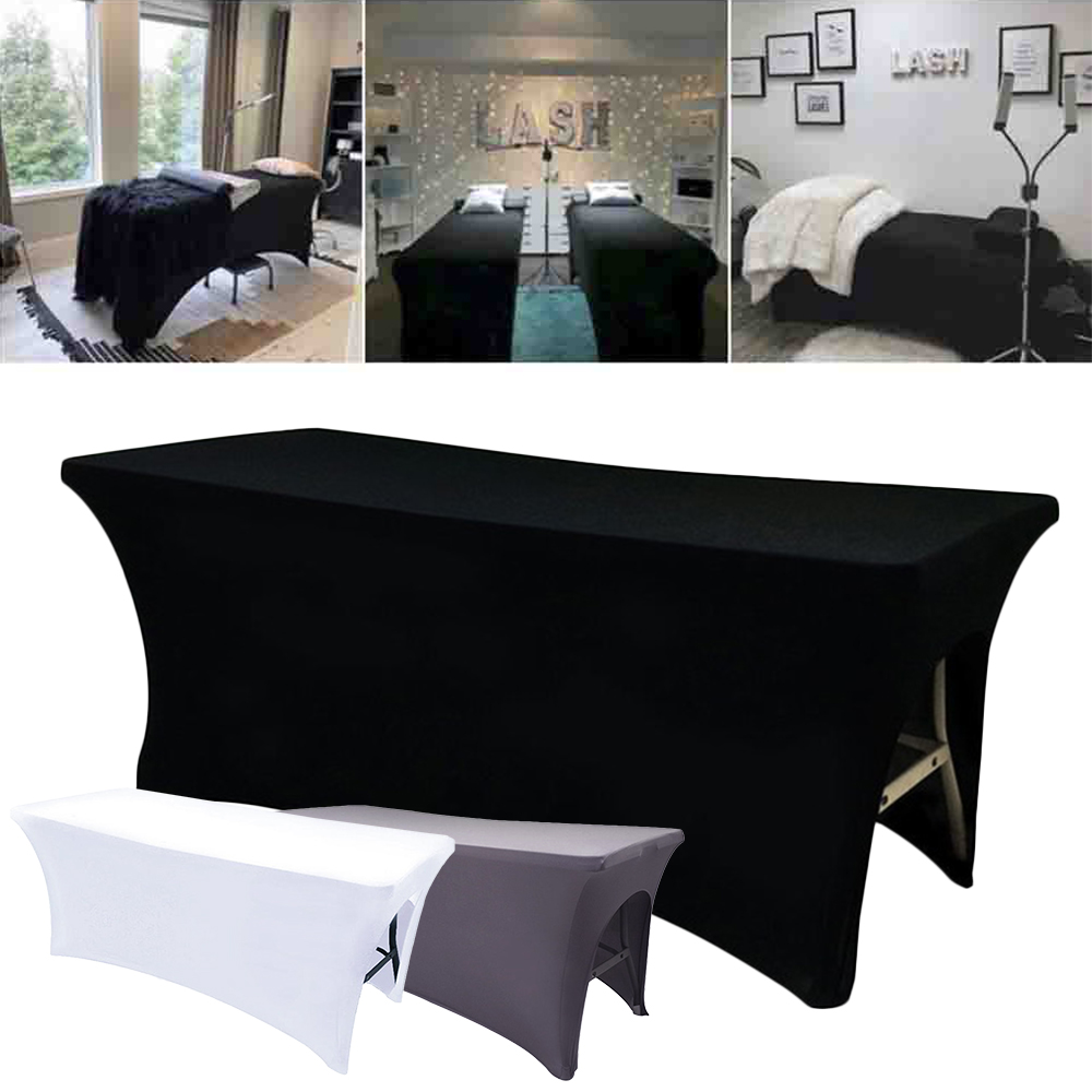 Elastic Eyelash Extension Bed Sheets Cover Special Stretchable Bottom Cils Table Sheet For Professional Lash Bed Makeup Salon