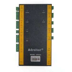 Image 3 - Contrôle daccès tcp/ip à deux portes, contrôle daccès, lecteur wg26/34, support de présence, accès/alarme/doigt/web/téléphone, sn:At 02, dernier modèle