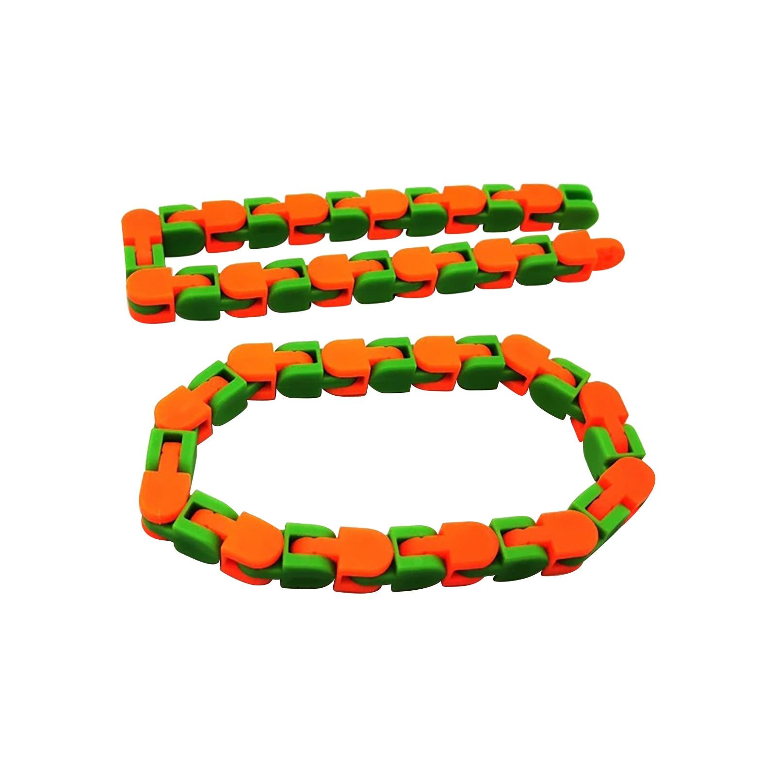 Toy Bracelet Fidget-Chain Adult Educatiaonal-Toys Anti-Stress Children for Spinner Snake img5