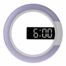 Цифровые настольные 3d часы светодиодные зеркальные пустотелые