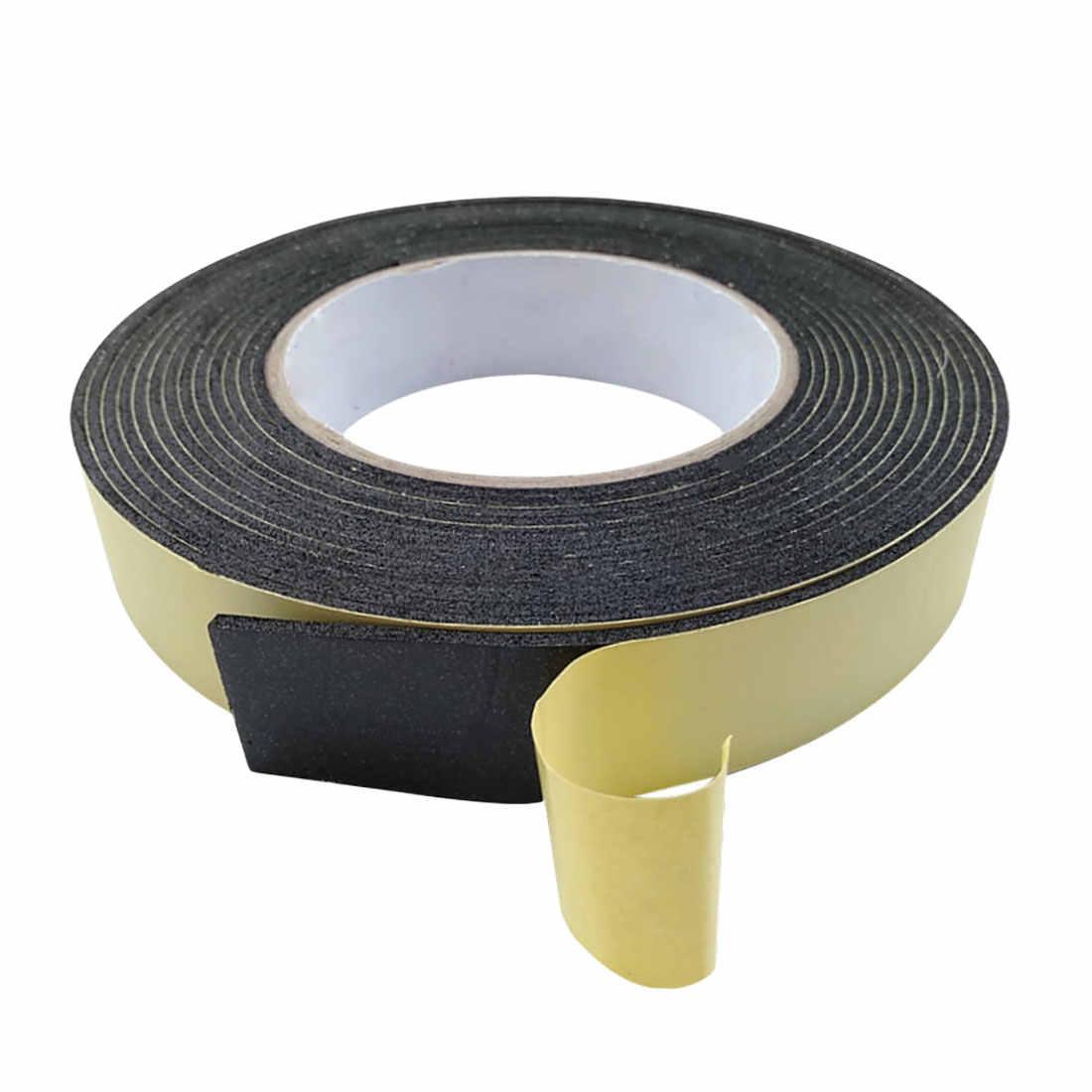 5m * 10mm * 2mm/3mm taśma jednostronna wodoodporny pogoda do zdejmowania izolacji z pianki guma gąbczasta paski do okna uszczelka do drzwi