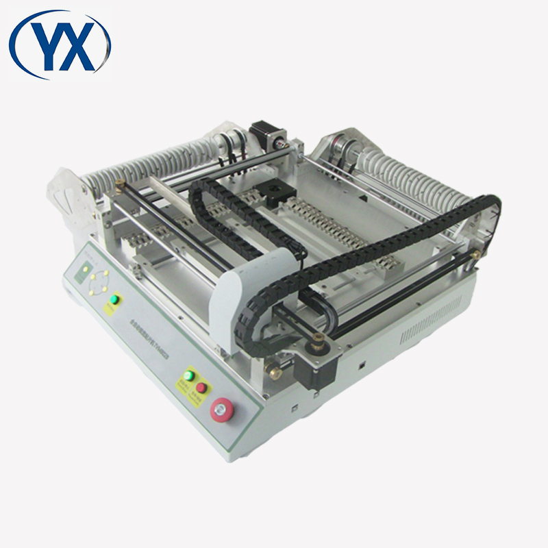 Automatic Recognize Double Heads SMT Desktop PNP Machine TVM802B With 46 Feeders Pick and Place Machine PNP Mounter