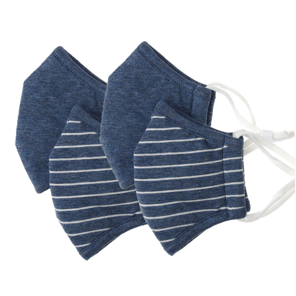 2 Pcs Reusable Protective Children Vertical Folding Cotton Fabric Mask Anti Dust Anti-Haze Half Face Mouth Mask Respirator