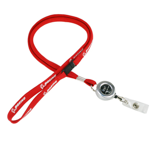Image 5 - Boeing Airlines Lanyard  787 with Easy Pull Buckle for Pilot Flight Crew ID Holder Blue Red Color
