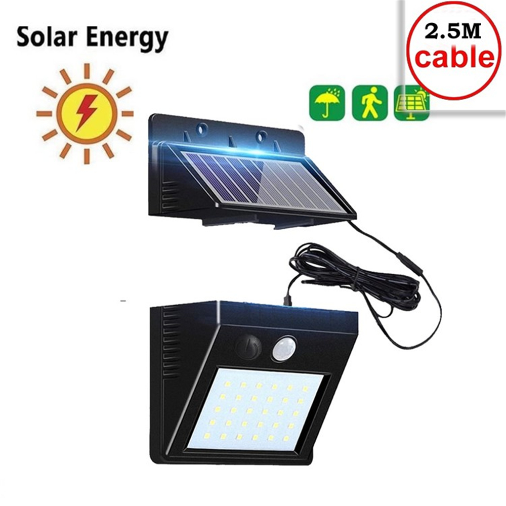 Solar Lamp Outdoor Led Light Wall Street Garden Security PIR Motion Sensor Solar Powered Lampada Waterproof IP65 Decorative indo