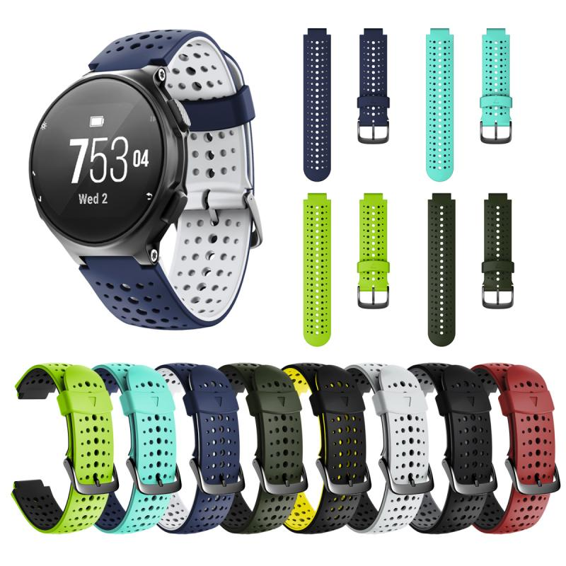 Watch Band For Garmin Forerunner 235 Silicone Strap Replacement Sport Bracelet Smart Watch Accessories Wristband Band TXTB1