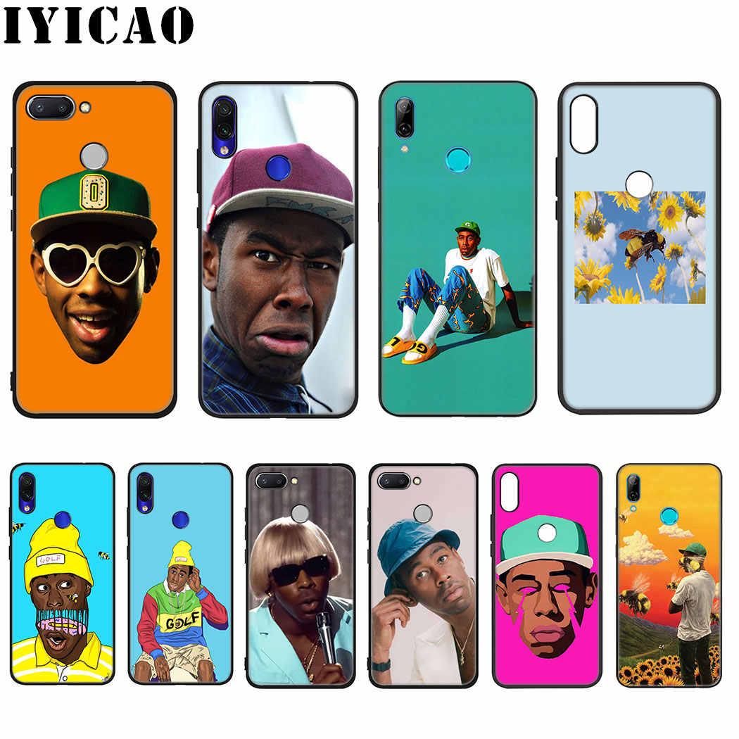 IYICAO, реперские кепки Tyler The Creator Мягкий силиконовый чехол для Xiaomi Redmi Note 4X5, 6, 7, 8 Pro 5A рrime