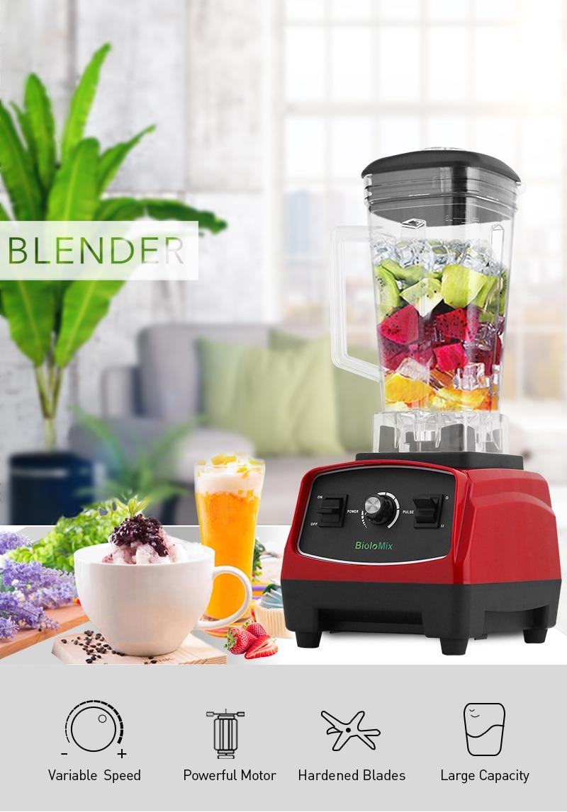 Hec9de9f1d63d48c89a1e047c68f6fb6dP BPA Free 3HP 2200W Heavy Duty Commercial Grade Blender Mixer Juicer High Power Food Processor Ice Smoothie Bar Fruit Blender