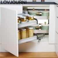 En La Ducha Organizador Despensa Gabinete Stainless Steel Cozinha Cocina Cuisine Kitchen Cabinet Cestas Para Organizar Basket Racks & Holders    -