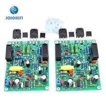 Одна пара quad405  2 100 Вт 8r tl071 jfet стерео двухканальная