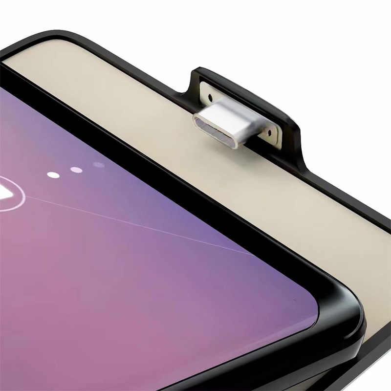 Obudowa ładowarki do Samsung Galaxy S9 S9 A8 7000mah Ultra cienki zasilanie awaryjne ładowanie etui do Samsung S9 S8 A8 Plus