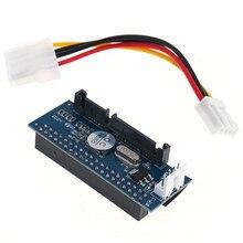 3.5 hdd ide/pata ao adaptador de cartão do conversor de sata para o disco rígido do ide 40-pino