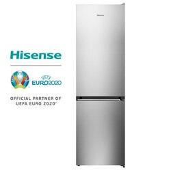 Hisense RB438N4EC3 холодильник, холодильник, 334 литров, без мороза, класс А + +, инверторный компрессор, бесшумный