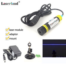 1668 450nm 445nm 80mW True Blue Line Laser Generator Module for Laser Swamp Haunted House Laser Lighting effects with Stand