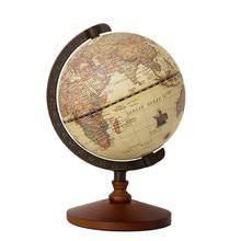 Geografia globo do mapa mundo terra globo 5 Polegada vintage ornamentos de madeira dia globo mundo constelação mapa