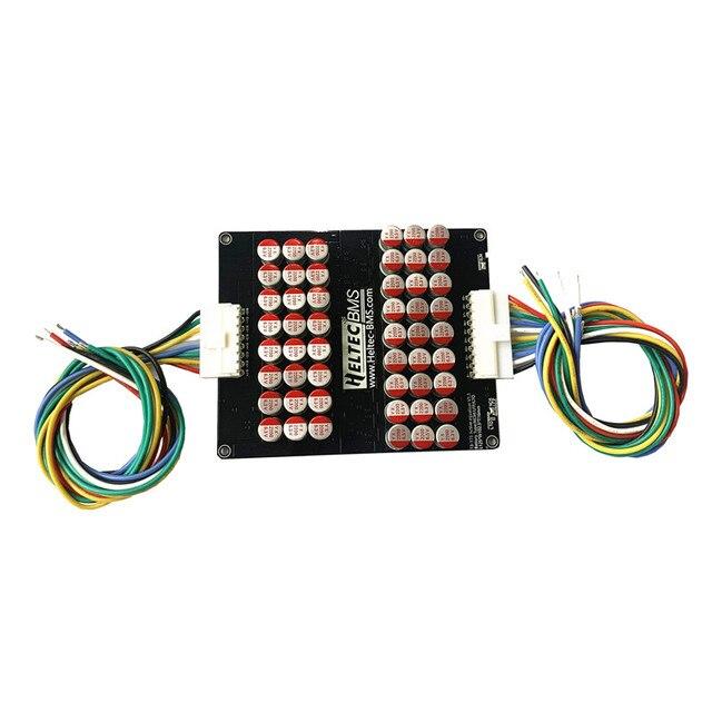 13 16S 17S 5A 6A Active эквалайзер балансировки Lifepo4 литий полимерный аккумулятор лто энергии активный выравнивания модуль конденсатор с алюминиевой крышкой