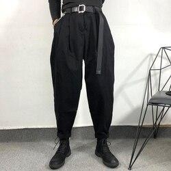Harun trouser male autumn and winter original dark series simple loose coveralls Harun Trouser Harun Trouser Harun Bunting Haraj
