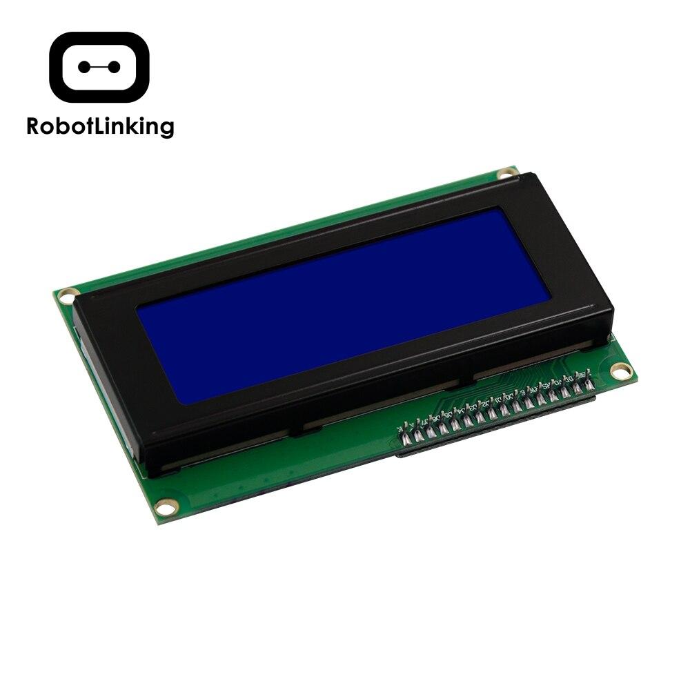 IIC/I2C/TWI Serial LCD 2004 Exibição 20x4 Blue Shield Backlight para Arduino