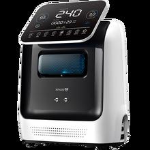 Портативный генератор кислорода XNUO, 3 л, концентратор кислорода, регулируемый домашний монитор здоровья с большим ЖК-дисплеем, английский